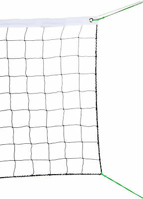 Volleyball Net With Steel Cable Rope Official Size Outdoor Indoor 32X3 FT