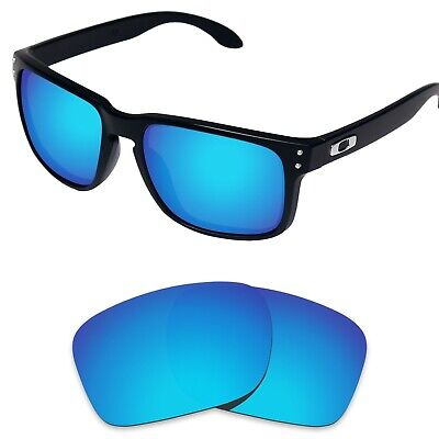 Replacement Lenses for-Oakley Holbrook Blue Polarized (STD)