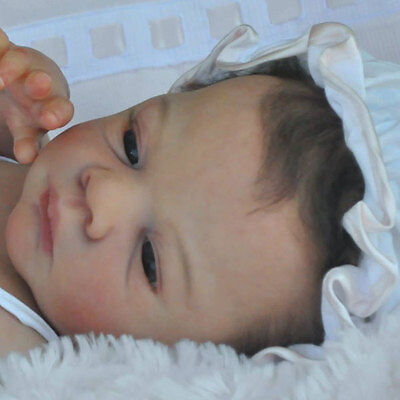 """New Reborn Baby Doll Kit She / He is Awake by Tina Kewy @ 22"""""""