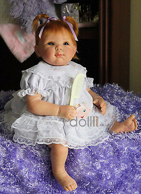 """New Reborn Baby Doll Kit Nancy By Elly Knoops @German Vinyl Soft and Light@20"""""""