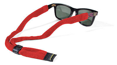 Croakies Suiter XL Red Sunglass Sport Retainer NEW FREE SHIPPING