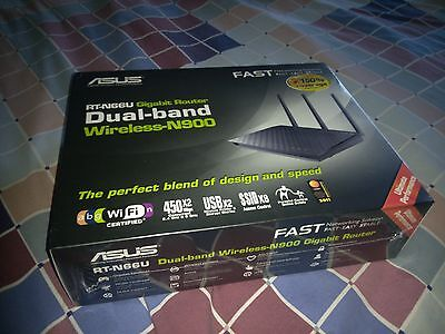 ASUS RT-N66U 4-Port Gigabit Wireless N Router (NEW)