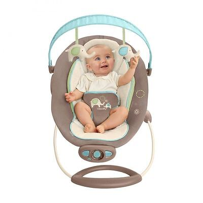 Ingenuity The Gentle Automatic Bouncer Sahara Burst Baby rocker