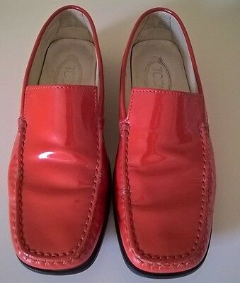 Tod's leather shoes, loafers, size 38,5