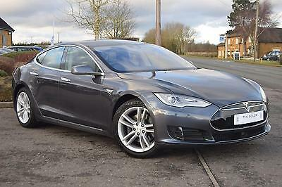 2016 Tesla Model S 70 Electric silver Automatic