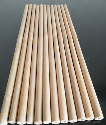 24pcs bamboo percussion timpani mallet 38cm dia9-10mm bamboo drumstick