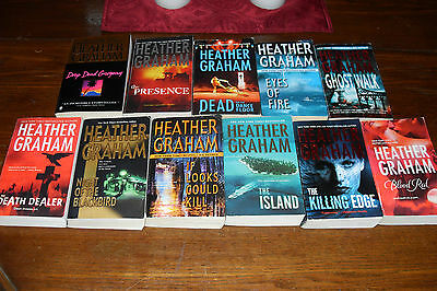 Nice Bundle of Mystery by HEATHER GRAHAM       free s/h CAN
