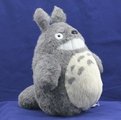 "JAPAN ANIME My Neighbor TOTORO New 11"" Smiling Plush Doll Stuffed  TOTORO-TOYS"