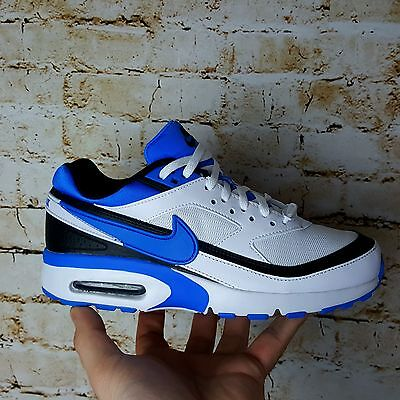Nike AIR MAX BW GS White/Photo Blue/Black Kids Youth Shoes Size 5