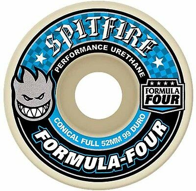 Spitfire - Formula 4 Conical Full 54MM 99D Skateboard Wheels