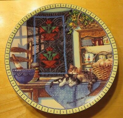 Lazy Morning by Hannah Hollister Ingmire Collector Plate - Knowles China 1990