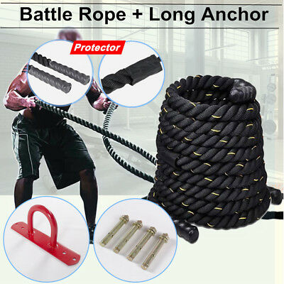 New 9M Battle Power Rope Battling Sport Gym Exercise Fitness Training Bootcamp