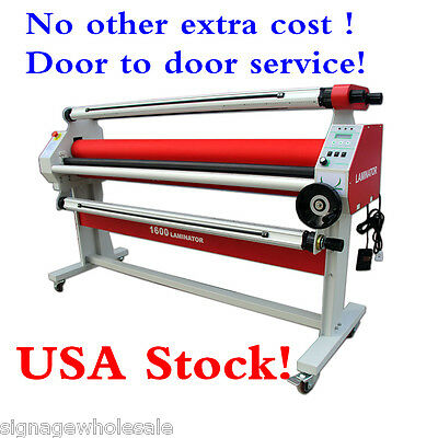 "USA! 110V 60"" Economical Full - auto Low Temp Wide Format Cold Laminator+ Stand"