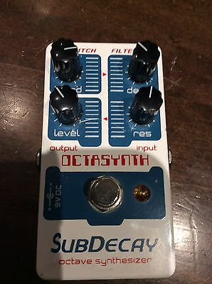 Subdecay Octasynth Octave Analogue Synth Pedal
