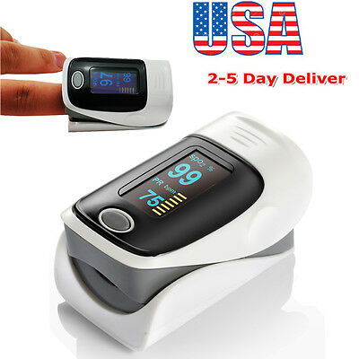 Low consumption OLED Blood Oxygen Finger Pulse Oximeter Oxymeter SPO2 PR Monitor