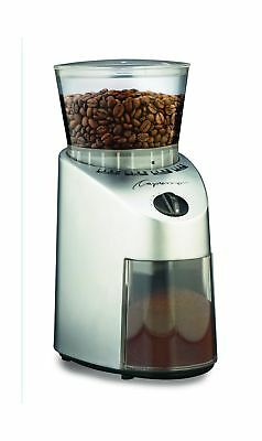 Capresso 560.04 Infinity Conical Burr Grinder Stainless Finish NO TAX