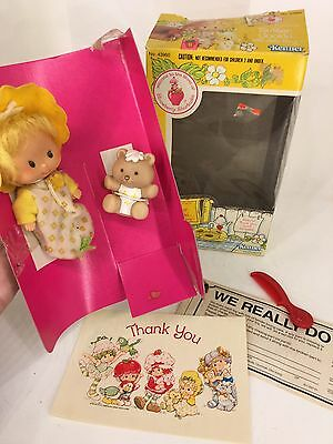 Vintage 1980s Strawberry Shortcake - Butter Cookie with Jelly Bear
