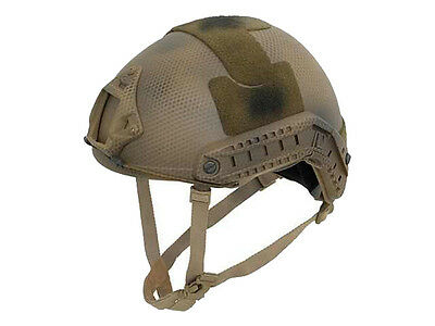 Emerson MH Adjustable Fast Helmet Subdueded Earth EM5658C Airsoft Military Style