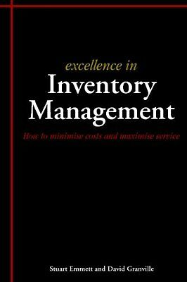 Excellence in Inventory Management by Stuart Emmett New Paperback Book