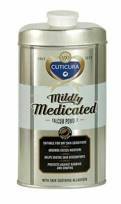 Cuticura Mildly Medicated Talcum Powder With Skin Soothing Allantoin 150G