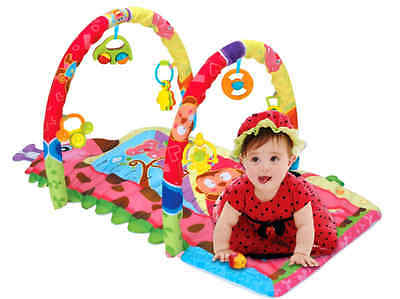 PLS Baby Rattle Playmat Extra Thick, Rattle Toys, Non-toxic