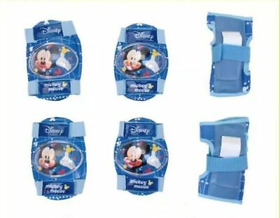 Mickey Mouse Boy Skates Scooter Roller Bike KNEE ELBOW WRIST Protective Gear Pad