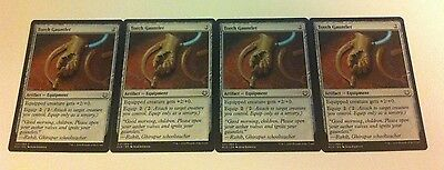 4 x MTG Card - TORCH GAUNTLET - Kaladesh - NEW