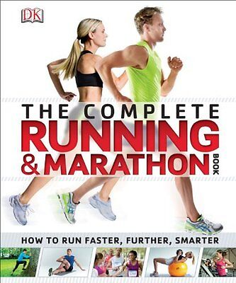 Complete Running and Marathon Book by DK Paperback New  Book