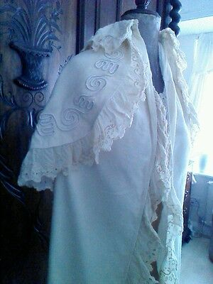 Fabulous antique christening gown