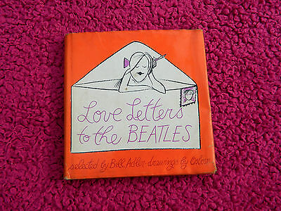 The Beatles 1964 Official Love Letters To The Beatles Book With Orig Dust Jacket