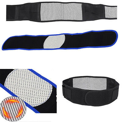 2Colors Magnetic Self-Heating Lower Back Lumbar Waist Pad Belt Support Protector