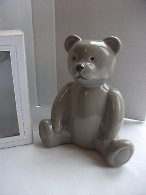 Teddy Bear Money Box Love From Bertie Christening Baby Gift New Boxed
