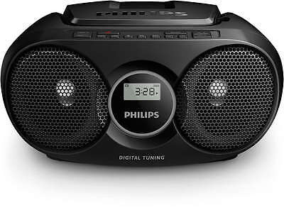 Philips AZ215R/05 Boombox - Black