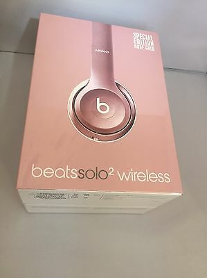 Rose Gold Beats By Dr Dre Solo 2 Wireless