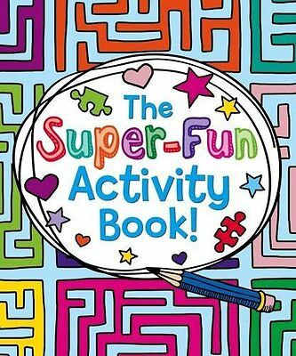 Super-Fun Activity Book by Tom Sparke New Paperback Book