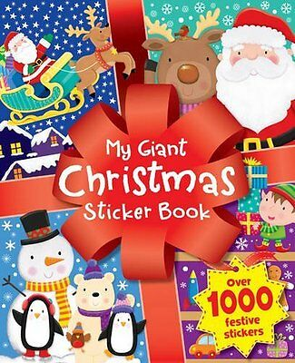 Christmas Time Sticker Fun New Paperback Book