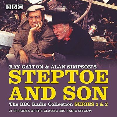 Steptoe & Son: The BBC Radio Collection by Alan Simpson New CD-Audio Book