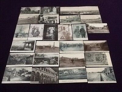 Collection Of 25 Postcards of SALONIQUE Thessaloniki GREECE from the 1940s