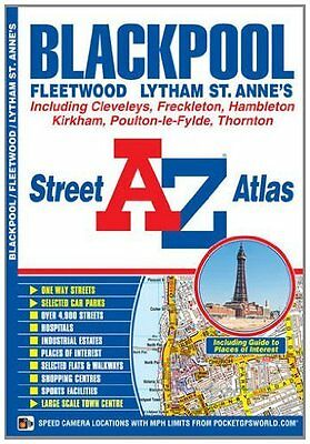 Blackpool Street Atlas by Geographers' A-Z Map Company New Paperback Book