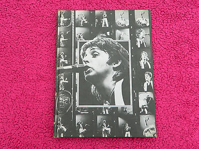 PAUL McCARTNEY AND WINGS BOOK (THE BEATLES) 1977 UK PUBLISHED HARDBACK