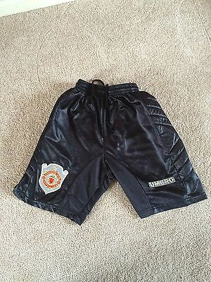 Manchester United Champions League Football Shorts 1997/99 Waist 26 Umbro