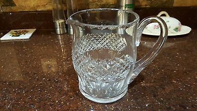 WATERFORD  COLLEEN  32 oz JUG/PITCHER Thumb-Print