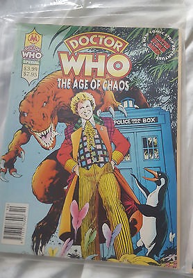 The Age Of Chaos Comic Magazine Doctor Who Marvel. RARE