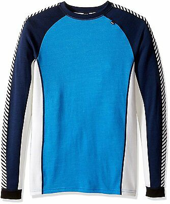 Helly Hansen Warm Ice Crew Top - Men's - Racer Blue - Medium