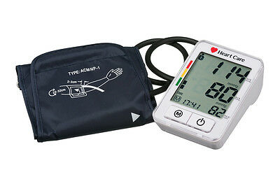 Automatic Digital Blood Pressure Monitor BP380A + carry bag
