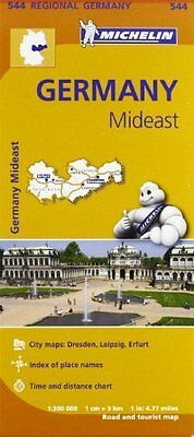 Germany Mideast New Sheet map  folded Book