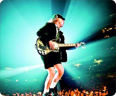 AC/DC Angus Young Colour Mouse Mat