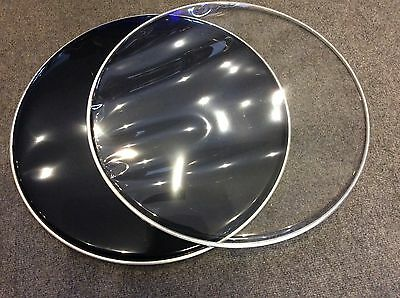 """Pair of 22"""" Bass Drum Heads, Yes Two Heads ,"""