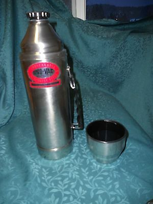 Vintage Unovac Stainless Unbreakable Thermos 1 quart
