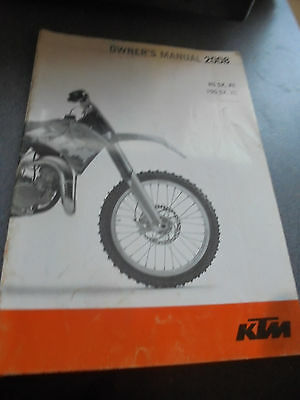 Ktm Xs 85 2008 Owners Manual